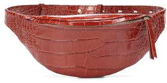 Nanushka Lubo embossed leather belt bag