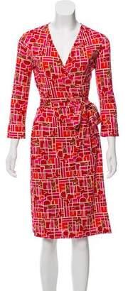 Diane von Furstenberg Silk Julian Dress