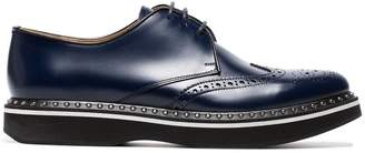 Church's Blue Keely leather studded brogues