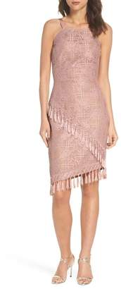 Bronx AND BANCO Natasha Asymmetrical Lace Dress