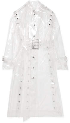Thierry Mugler Vinyl Trench Coat - White