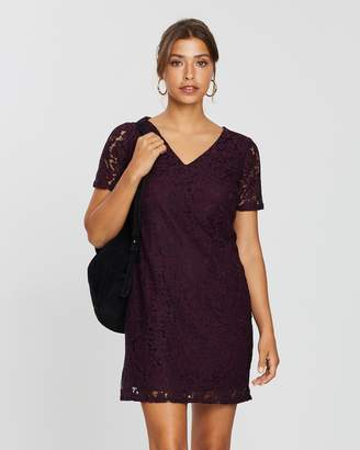 Dorothy Perkins Two-Tone Lace Dress