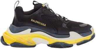 Balenciaga Triple S Fabric Sneakers
