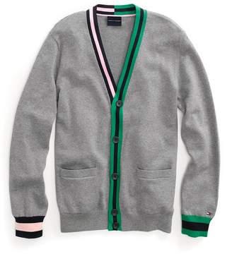 Tommy Hilfiger Contrast Stripe Cardigan