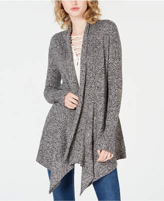 Bar III Open-Front Waterfall Cardigan