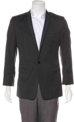 Dolce & Gabbana Striped Virgin Wool & Silk-Blend Tuxedo Jacket