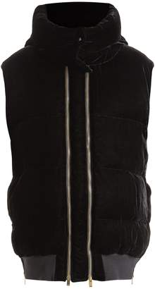 Stella McCartney Melissa oversized quilted-velvet gilet