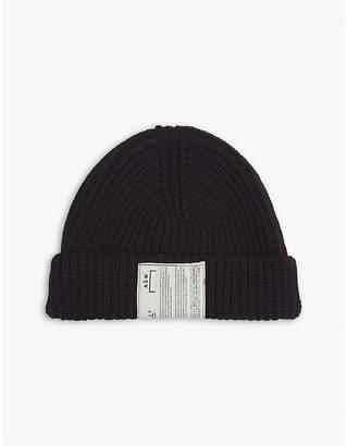 A-Cold-Wall* Zipped merino wool-blend beanie