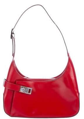 Salvatore Ferragamo Leather Gancino Bag