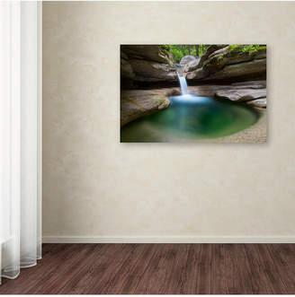 Pool' Trademark Global Michael Blanchette Photography 'Sabbaday Green Canvas Art