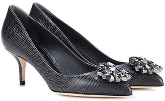 Dolce & Gabbana Bellucci embellished leather pumps