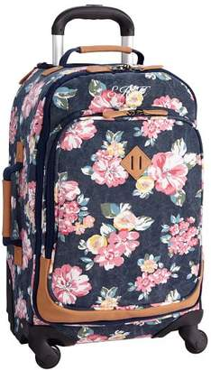 Pottery Barn Teen Northfield Bloom Burst Carry-On Spinner, 22&quot