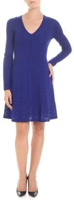 M Missoni V Neck Knitted Dress