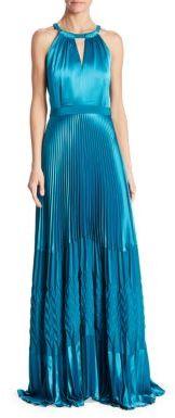 ZAC Zac Posen Olympia Halter Gown $1,290 thestylecure.com