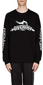 Givenchy Men's Taurus Tour Cotton French Terry Sweatshirt - Black