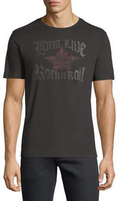 John Varvatos Long Live Rock n' Roll Graphic T-Shirt