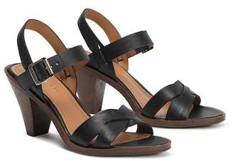 Trask Summer Cone Heel Leather Sandal