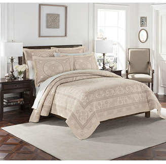 Williamsburg Basset Matelasse Twin Coverlet Bedding
