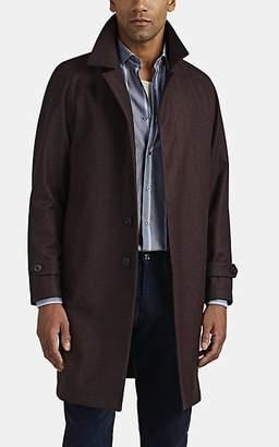 Barneys New York Men's Wool-Cashmere Topcoat - Wine