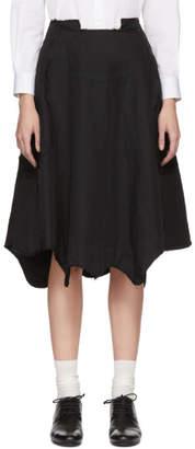Comme des Garcons Black Reconstructed Skirt