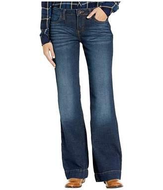 Wrangler Western Retro Mae Wide Leg Mid-Rise