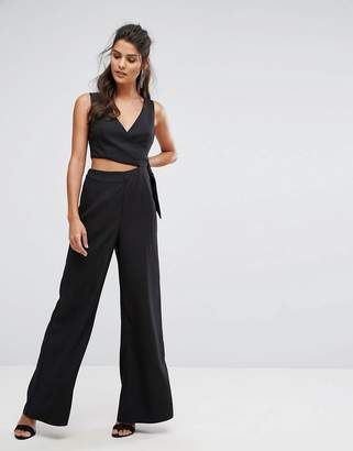 Finders Keepers Finders Breezeblocks Wide Leg Jumpsuit