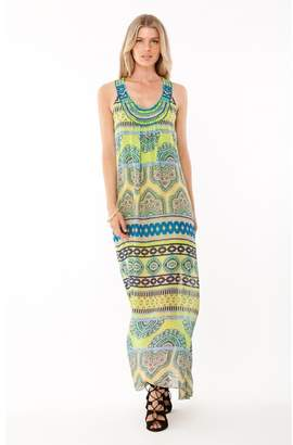 Hale Bob Joplin Silk Beaded Maxi