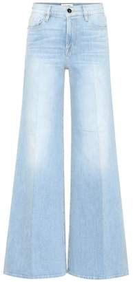 Frame High-waisted flare jeans