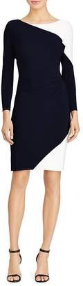 Lauren Ralph Lauren Color-Block Jersey Dress
