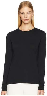 ADAM by Adam Lippes Long Sleeve Crew Neck Core Tee Women's T Shirt