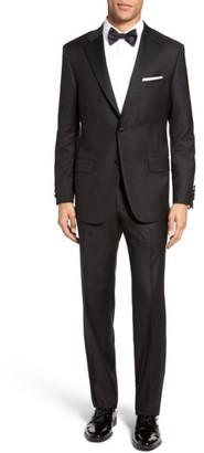 Men's Hickey Freeman Beacon Classic Fit Wool Tuxedo $1,695 thestylecure.com