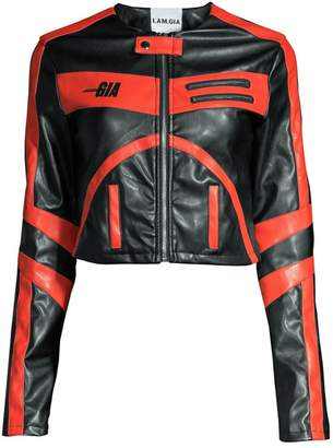 I.AM.GIA Octavia Bicolor Leather Jacket