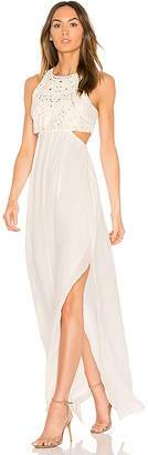 Ella Moss Valletta Cutout Maxi Dress