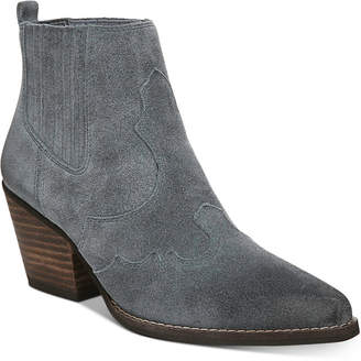 Sam Edelman Winona Western Booties Women Shoes
