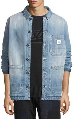 G Star G-Star Men's Blake Padded Bitt Canvas Jacket