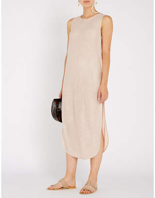 Jets Mirage woven maxi dress