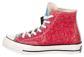 J.W.Anderson Converse Chuck Taylor High-Top Sneakers w/ Tags red Converse Chuck Taylor High-Top Sneakers w/ Tags