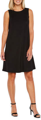 Evan Picone BLACK LABEL BY EVAN-PICONE Black Label by Evan-Picone Sleeveless Swing Dresses