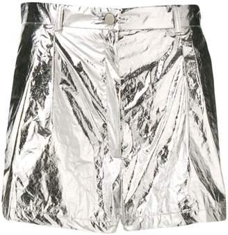Roseanna metallic shorts