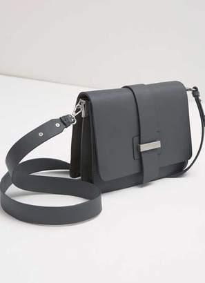 Mint Velvet Charcoal Structured X Body Bag
