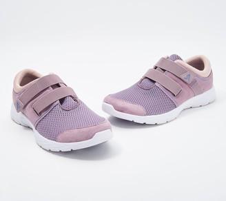 Vionic Suede & Mesh Adjustable Sneakers - Ema