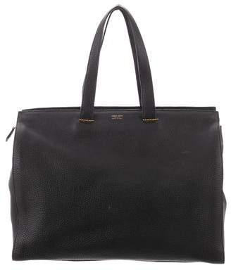 Giorgio Armani Grained Leather Tote