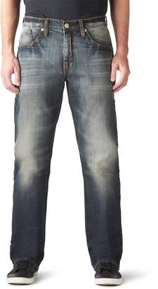 Rock & Republic Men's Stretchy Relaxed-Fit Straight-Leg Jeans
