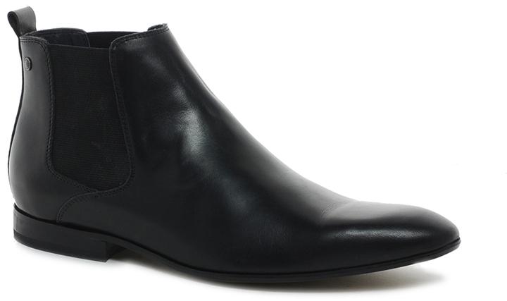 Base London Stag Hi Shine Chelsea Boots