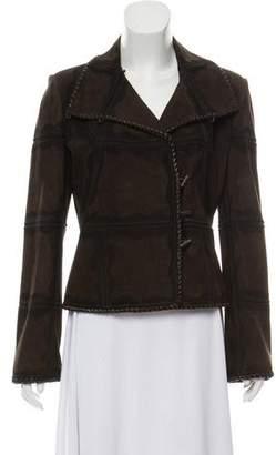 Fendi Suede Leather Jacket