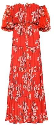 Johanna Ortiz Viajes del Alma silk-blend dress