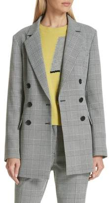 Robert Rodriguez Plaid Blazer