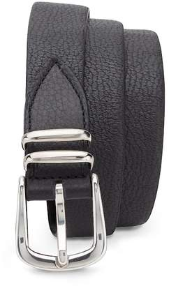 Eleventy Stretch Leather Belt