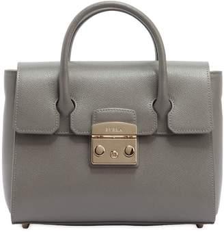 Furla Small Metropolis Leather Tote Bag