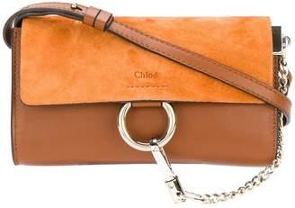 Chloé Tobacco Faye chain wallet Bag